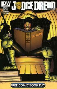 Judge Dredd Classics (2nd Series) FCBD #2013 VF/NM; IDW   save on shipping - det
