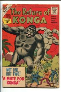 THE RETURN OF KONGA-SPECIAL EDITION-1962-CHARLTON-good