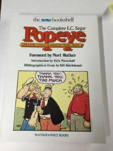 E.c. Segar Popeye Complete Nemo Bookself Sundays Volume 1 2 3 4 Fantagraphics Nm