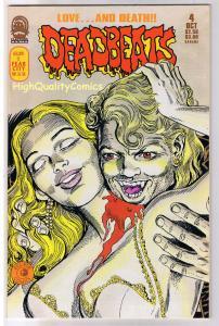 DEADBEATS #4, VF+, Vampires, Horror, Femmes, 1993