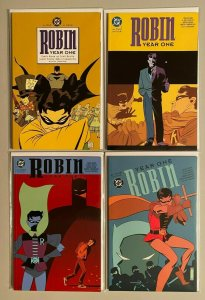 Robin Year One set from:#1-4 all 4 different books 8.0 VF (2000)