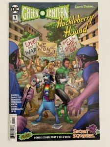 GREEN LANTERN/HUCKLEBERRY HOUND SPECIAL #1 - SAM BASRI MAIN COVER - DC/2018 NM