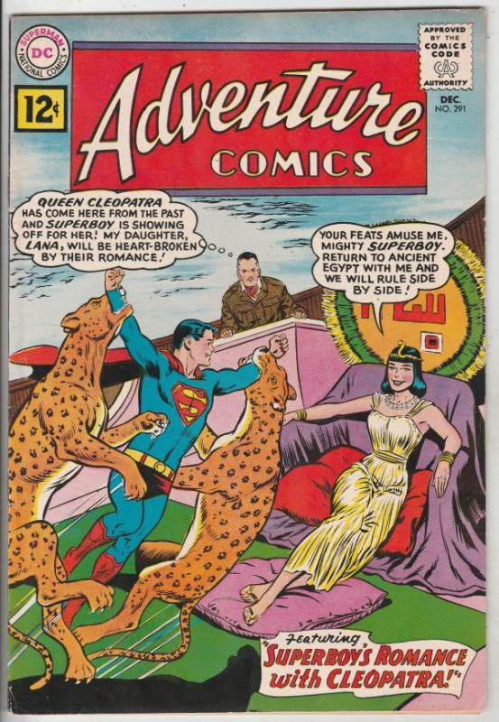 Adventure Comics #291 (Dec-61) VF/NM High-Grade Superboy