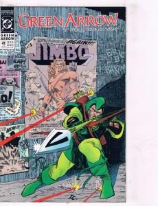 Lot of 8 Green Arrow DC Comic Books # 41 42 43 44 45 46 49 50 Super Heroes TW30