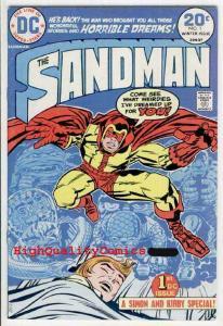 SANDMAN #1, Jack Kirby, Joe Simon , FN to FN+, 1974, Dreams, General Electric