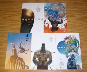 Halcyon #1-5 VF/NM complete series - marc guggenheim - second printings set