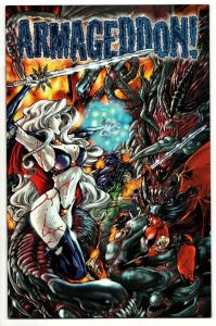 Armageddon #3 Lady Death / Evil Ernie / Purgatori (Chaos!, 1999) VF