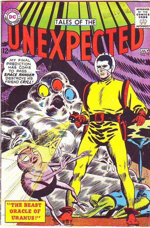 Tales of the Unexpected #77 (Jul-63) FN Mid-Grade Space Ranger, Cyrl