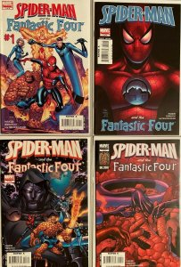 Spider-Man and the fantastic four set:#1-4 8.0 VF (2007)