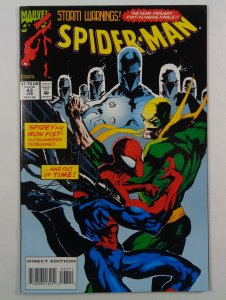 Spider-Man #43 NM-/NM Iron Fist Front/Back Cover Photos Marvel 1994