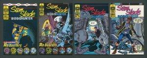 Sam Slade Robo Hunter #1  #2  #3  #4 (SET)  8.0 VFN   1986