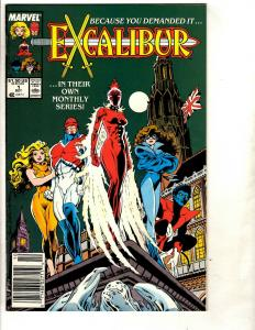14 Excalibur Marvel Comics # 1 2 3 5 12(2) 13 14 15 16 17 19 22(2) WS5