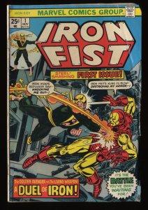 Iron Fist #1 VG- 3.5