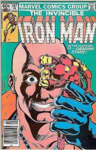 Iron Man #167 (Jan-84) NM Super-High-Grade Iron Man