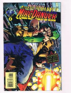 Mike Danger #8 NM Tekno Comix Comic Book Mickey Spillane Collins DE28