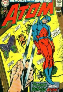 Atom, The #35 VG; DC   low grade comic - save on shipping - details inside