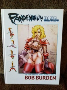PANDEMONIUM BLVD, NM Signed with Art by Bob Burden Flaming Carrot Hardcover 2014