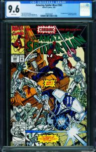 AMAZING SPIDER-MAN #360 CGC 9.6 First Carnage MARVEL 1993024007