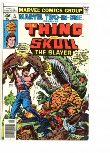 Marvel Two-In-One 35 VG/F   Skrull the Slayer!