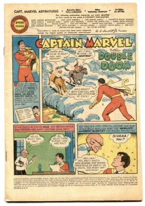Captain Marvel Adventures #130 1952- coverless comic