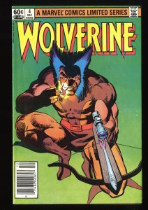 Wolverine (1982) #4 FN 6.0 Limited Series