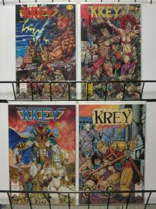 KREY (1992 GAUNTLET) 1-3,SP  Post-Apocalyptic Future!