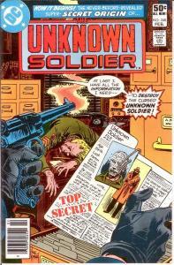 UNKNOWN SOLDIER 248 VF-NM Feb. 1981 COMICS BOOK