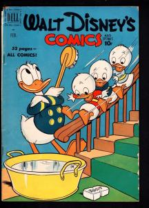 WALT DISNEY'S COMICS AND STORIES #125-1951-DONALD DUCK-MICKEY-CARL BARKS AR VG++