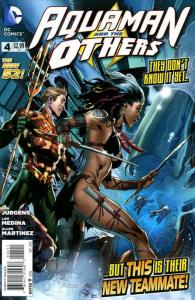 Aquaman and the Others #4 VF/NM; DC | save on shipping - details inside