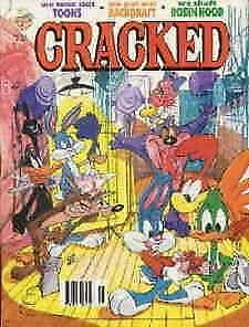 Cracked #267 VF; Globe   save on shipping - details inside