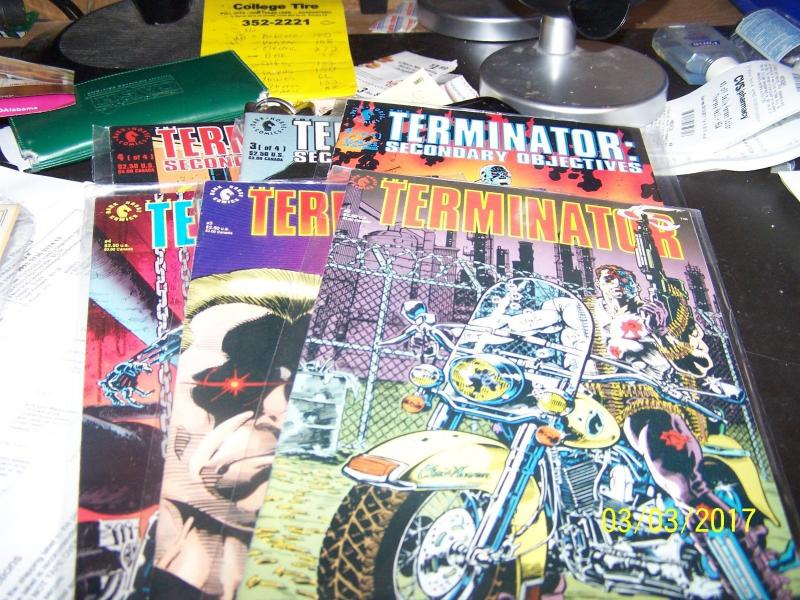 terminator comic lot # nuclear twilight+revolution+ movie adaptions+end game