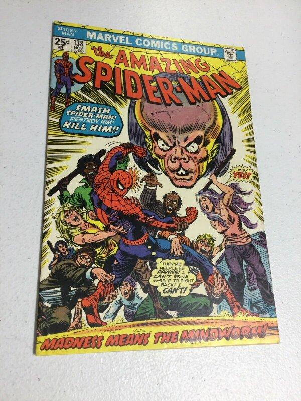 Amazing Spider-Man 138 Vf Very Fine 8.0 Marvel Comics
