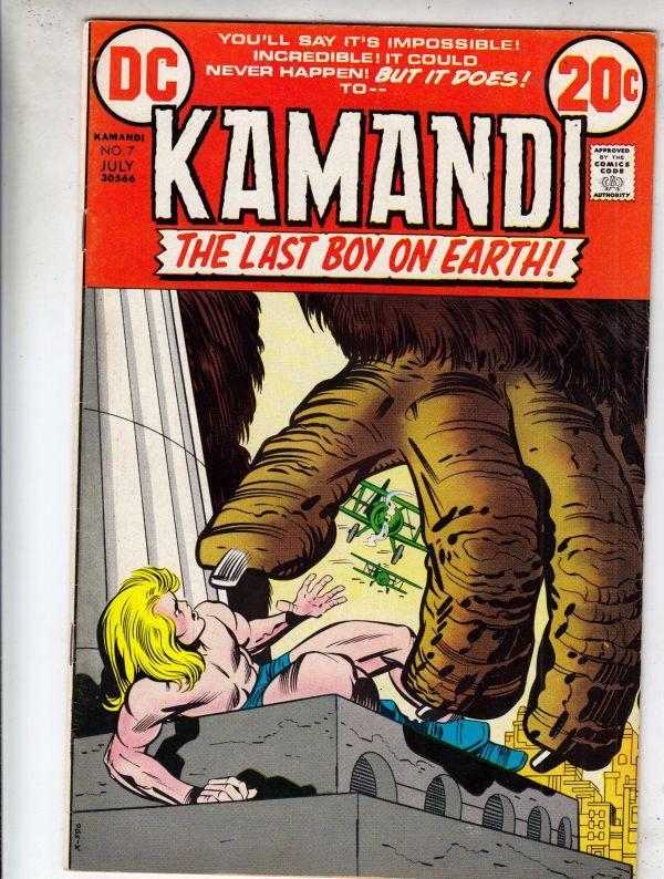 Kamandi the Last Boy on Earth #7 (Jul-73) VF/NM High-Grade Kamandi