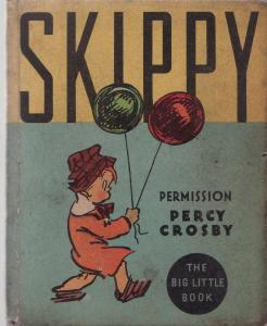 SKIPPY-1934-BIG LITLE BOOK-WHITMAN-#761-PERCY CROSBY FN