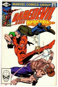DAREDEVIL 173 VF Aug 1981 Miller classic Daredevil saga COMICS BOOK
