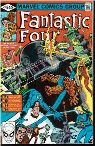 Fantastic Four #219, 8.0 or Better - 1st Sienkiewicz FF work