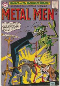 Metal Men #5 strict FN 6.0   Appearance - The Mammoth Robot   Many more up