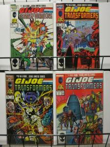 GI JOE & TRANSFORMERS 1-4 Toy vs Toy!!!!!