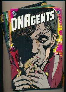 LOT 8 Comics!-Eclipse Comics DNAgents #3,5-11  VF+ (PF794)