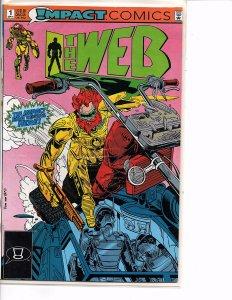DC/Impact Comics The Web #1 1st App. for DC
