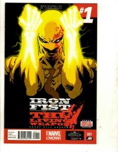 10 Marvel Comics Iron Fist 1 2 3 All New All Different Avengers 1 2 3 4 5 + CJ15