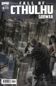 Fall of Cthulhu: Godwar #4A VF/NM; Boom! | save on shipping - details inside