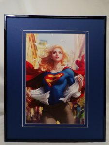 Supergirl #15 Framed 16x20 Poster Display DC Comics Artgerm GGA