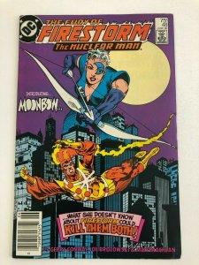 THE FURY OF FIRESTORM #48 (DC Comics 1986) 1ST APP OF MOONBOW VF+