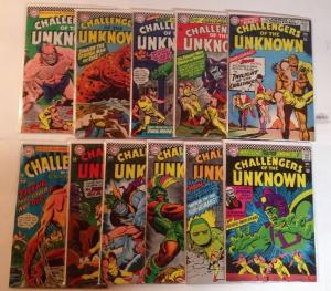 Challengers Of The Unknown 48 49 50 51 52 53 54 56 57 59 70 FN Lot Set Run