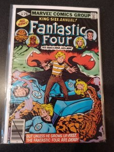 FANTASTIC FOUR #14 FF ANNUAL HIGH GRADE VF+
