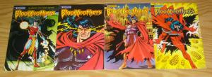 Blood Brothers #1-4 VF/NM complete series - blood wing spin-off  phil hester art