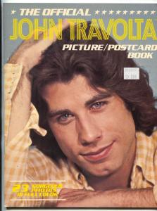 Official John Travolta Picture / Postcard Book 1978