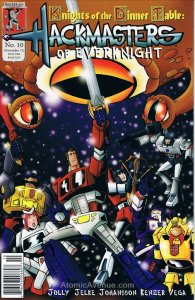 Hackmasters of EverKnight #10 VF; Kenzer and Company | save on shipping - detail