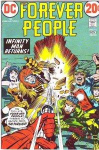 Forever People #11 (Nov-72) NM- High-Grade Big Bear, Beautiful Dreamer, Serif...